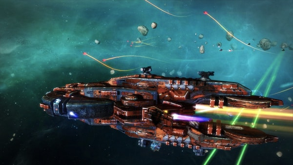 Rebel Galaxy Review Screenshot