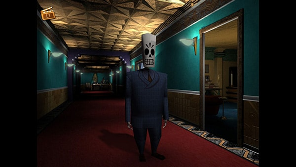 Grim Fandango Remastered Review Screenshot