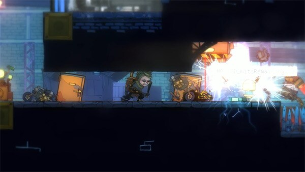 The Swindle Review Screenshot