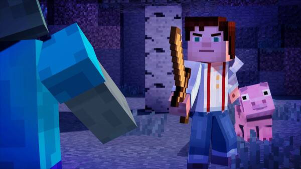 Minecraft: Story Mode Review Screenshot