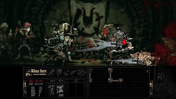 <em>Darkest Dungeon</em> Review Screenshot