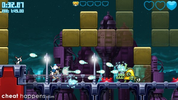 Mighty Switch Force: Hyper Drive Edition Review Screenshot