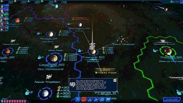 Sid Meier's Starships Review Screenshot