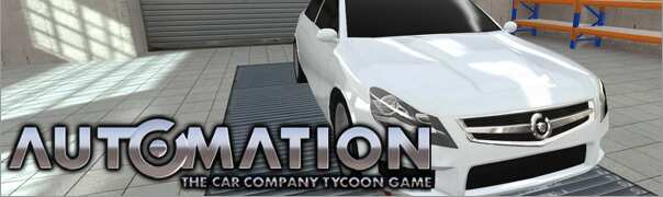 Automation - The Car Company Tycoon Game Trainer
