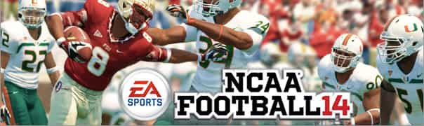 NCAA Football 14 Cheats