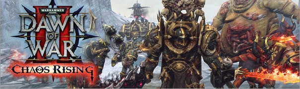 Warhammer 40k: Dawn of War 2 - Chaos Rising Cheats