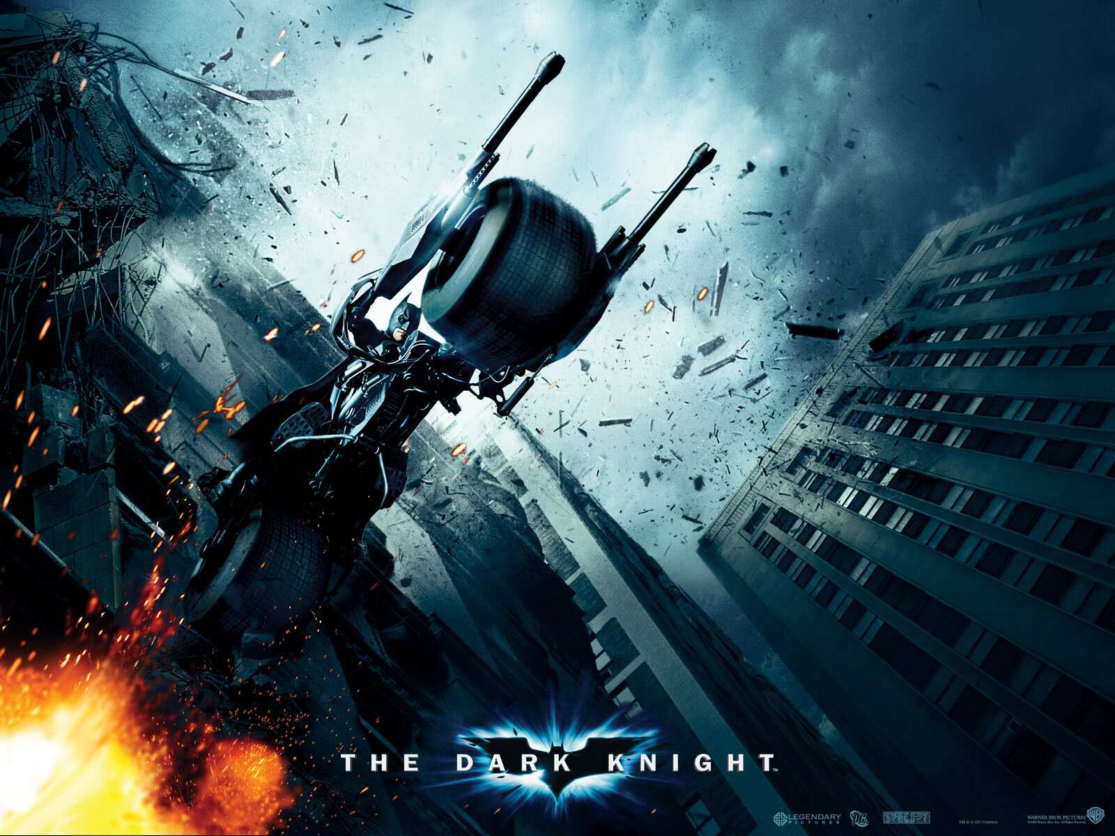 4 Wallpapers Hd En 1600x1200 De The Dark Knight Blockbuster