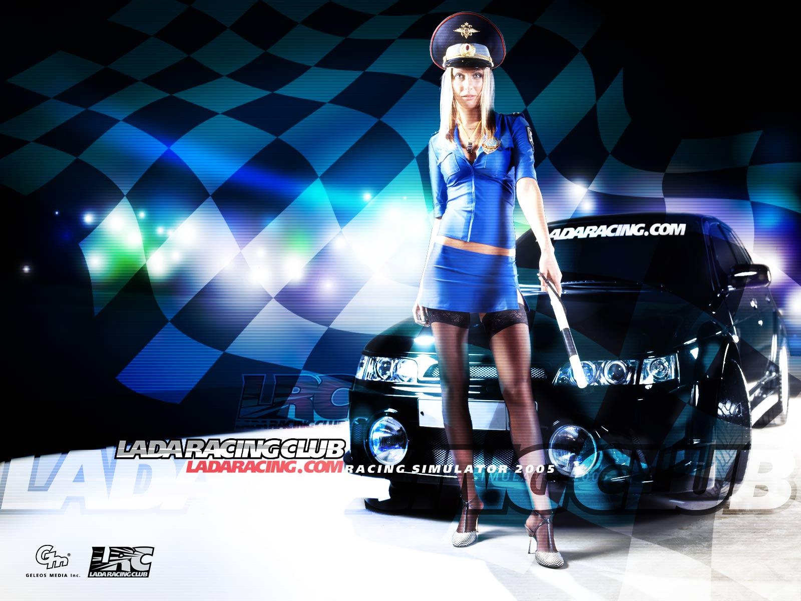 Games/wallpapers games Lada Racing Club 2. WallHits.com - World
