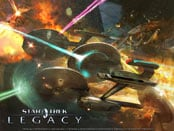 Star Trek: Legacy Wallpapers
