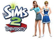 Sims 2, The - University Wallpapers